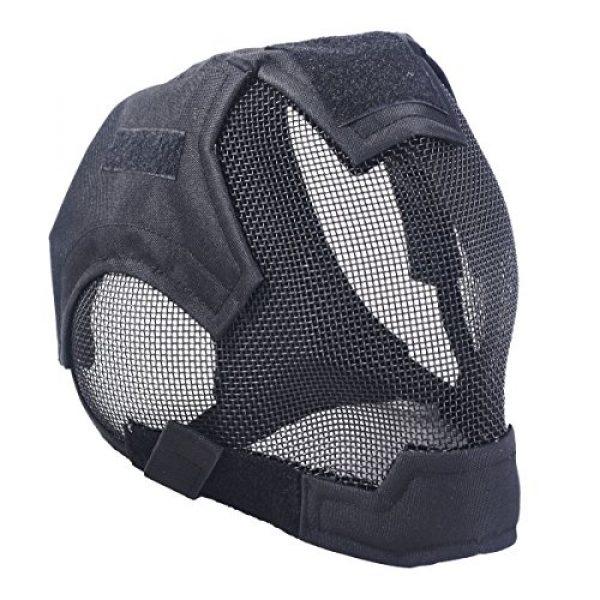 Outgeek Airsoft Mask 3 Outgeek Airsoft Mask Full Face Mask War Game Steel Mesh Protective Mask