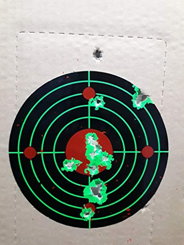 UsefulThingy Airsoft Target 3 UsefulThingy Zombie Shooting Target Splatter Targets 12x17.5 inch - Reactive Paper Shoot n See 10/30 / 50 Pack - Rifle Handgun Shotgun Airsoft BB Gun - Range Accessories