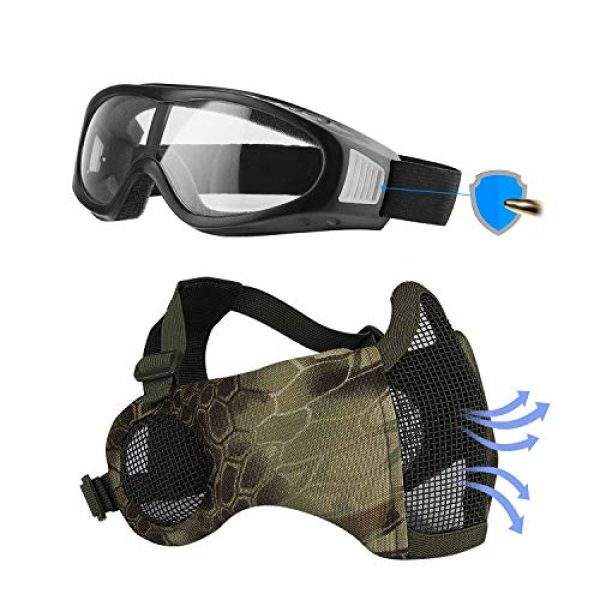 SHOWKOO Airsoft Mask 1 Airsoft mask
