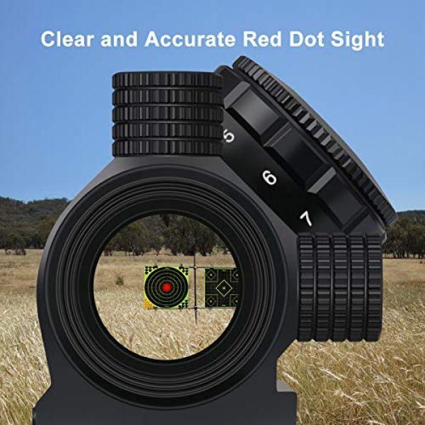 Marmot Airsoft Gun Sight 4 Marmot Red Dot Sight 2 MOA Micro Red Dot Sight 1x22 Compact Scope 11 Brightness Sight