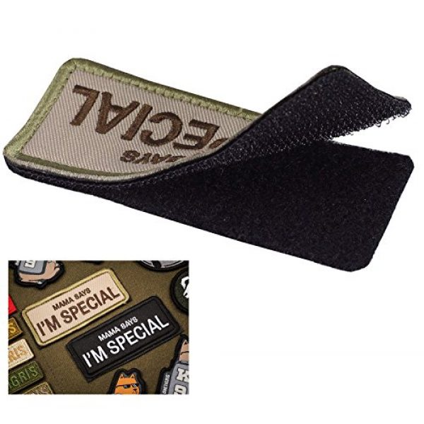 """Ehope Airsoft Patch 3 Ehope Mama Says I'm Special Patch Tactical Morale Military Patches Funny Embroidered Fastener Hook and Loop Patches 3.54"""" x 1.57""""(I'm Special-Multitan)"""