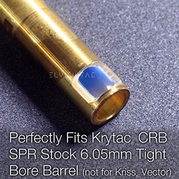 Elvish Tac Airsoft Barrel 3 Elvish Tac RHOP for Krytac CRB SPR Stock 6.05 TBB NO Sanding R-Hop
