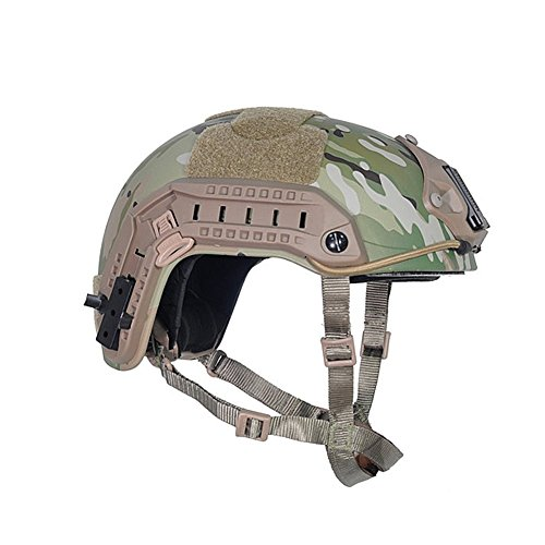 ATAIRSOFT Airsoft Helmet 4 ATAIRSOFT Adjustable Maritime Helmet ABS Multicam MC for Airsoft Paintball