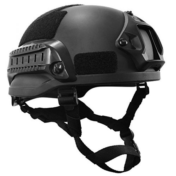 OneTigris Airsoft Helmet 1 OneTigris MICH 2002 Action Version Tactical Helmet ABS Helmet for Airsoft Paintball