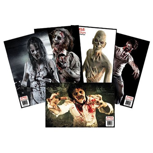 BenchMaster Airsoft Target 1 Benchmaster - Shooting Targets - Zombie Targets - 25 Target Variety Pack - Be Ready for the Zombie Invasion - Pack of 25 Targets