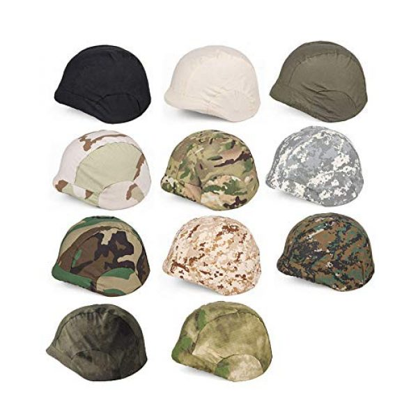 Sunnytacticalgear Airsoft Helmet 2 Outdoor Sports Airsoft Gear Helmet Accessory Tactical Camouflage Cloth Helmet Cover for M88 Helmet
