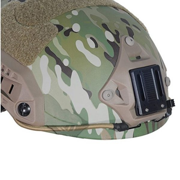 ATAIRSOFT Airsoft Helmet 5 ATAIRSOFT Adjustable Maritime Helmet ABS Multicam MC for Airsoft Paintball