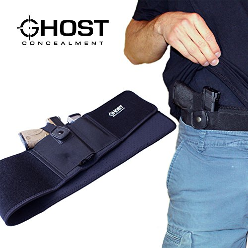 Ghost Concealment  1 Ghost Concealment Belly Band Holster for Concealed Carry | IWB Gun Holsters | Men and Women