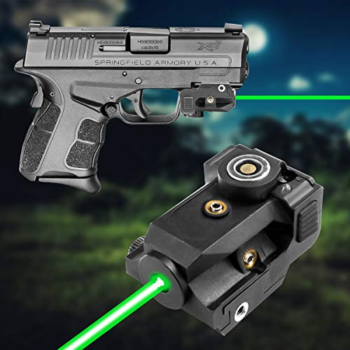 Lasercross Airsoft Gun Sight 1 Lasercross LS01G Magnetic Touch Charging Green Laser Sight