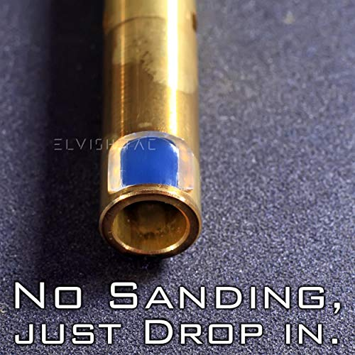 Elvish Tac Airsoft Barrel 2 Elvish Tac RHOP for Krytac CRB SPR Stock 6.05 TBB NO Sanding R-Hop