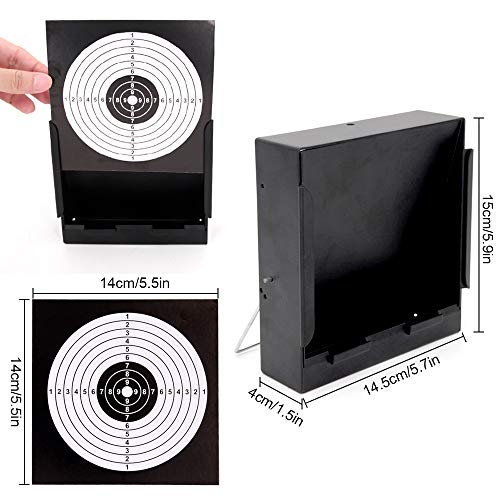 Sealive Airsoft Target 3 Sealive Metal Airsoft Targets for Shooting with Trap