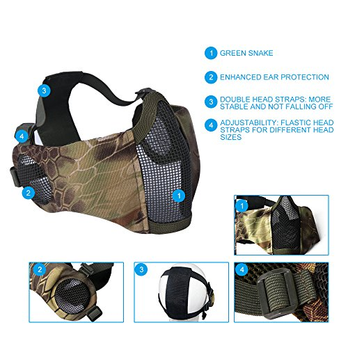 Upgrade Ear & Eye Protection [Airsoft Rated]