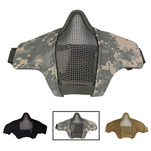Aoutacc Airsoft Mask 1 Aoutacc Airsoft Mesh Mask