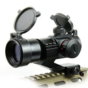 360 Tactical Airsoft Gun Sight 1 Tactical Scope Reflex Stinger 4 MOA Red - Green Dot Sight With Picatinny Mount