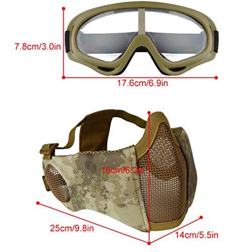 Outgeek Airsoft Mask 4 Outgeek Airsoft Mask