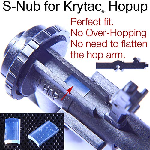 Elvish Tac Airsoft Barrel 5 Elvish Tac S-Nub for R-Hopping Airsoft Snub RHop Nub Hopup