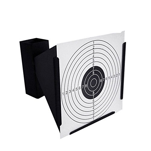Guyuyii Airsoft Target 2 Guyuyii 14cm Steel Target Holder + 100 Targets air Rifle Pelet Trap Shooting Airsoft