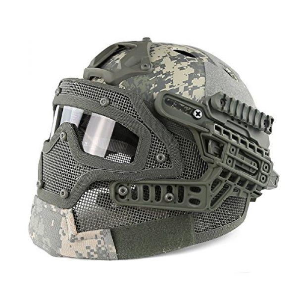 YASHALY Airsoft Helmet 1 YASHALY Tactical PJ Helmet