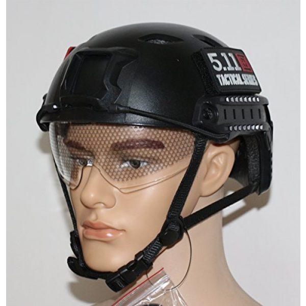 iMeshbean Airsoft Helmet 3 iMeshbean Airsoft Swat Helmet Combat Fast Helmet