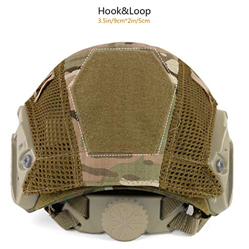 Aoutacc Airsoft Helmet 2 Aoutacc Tactical Multicam Helmet Cover