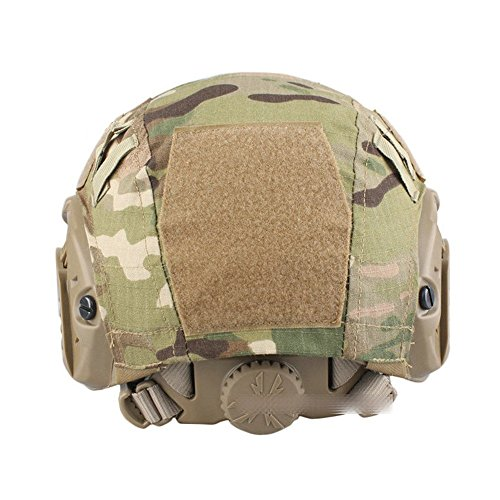 Airsoft Paintball Hunting Shooting Gear Fast Helmet Cover (Black Python)