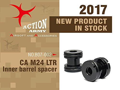 Action Army Airsoft Barrel 1 Action Army b07-002 Class Army M24 LTR Inner Barrel Spacer