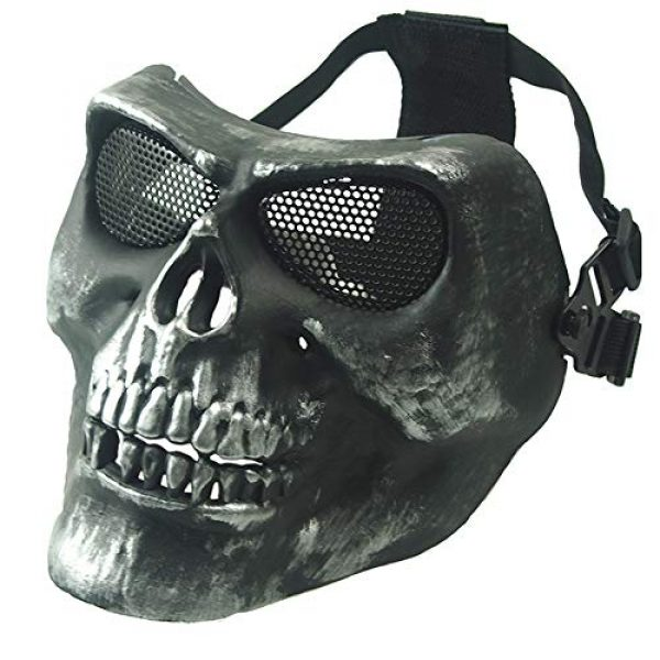 Anyoupin Airsoft Mask 1 Anyoupin Airsoft Half Face Masks