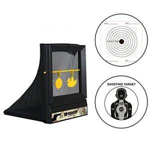 Atflbox Airsoft Target 1 Atflbox Airsoft Targets for Shooting Reusable BB Airsoft Target Metal Target for Indoor