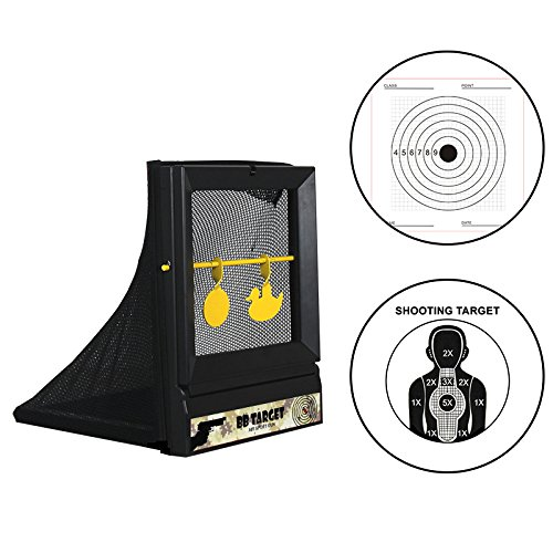 Atflbox Airsoft Target 1 Atflbox Airsoft Targets for Shooting Reusable BB Airsoft Target Metal Target for Indoor