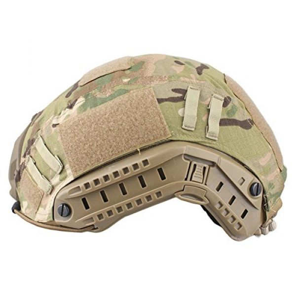 Leagway Airsoft Helmet 3 Leagway Tactical Military Combat Helmet Cover for Ops-Core Fast Ballistic Helmet