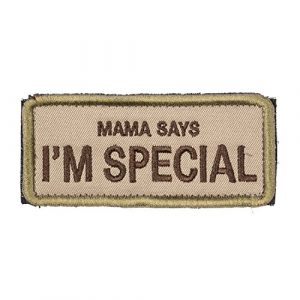 OneTigris Airsoft Patch 1 OneTigris Original Patch Tactical Morale Military Patch Mama Says I'm Special (A)