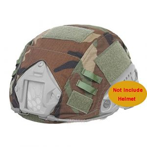 ATAIRSOFT Airsoft Helmet 1 ATAIRSOFT Army Tactical Series Airsoft Paintball Fast Helmet Cover Multiple Colors