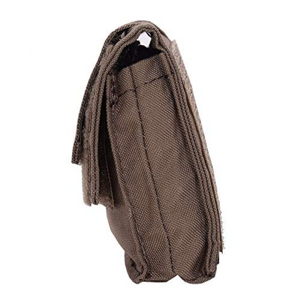 EMERSONGEAR Airsoft Helmet 3 EMERSONGEAR Molle Tactical Helmet Pouch Removable Gear Pouch