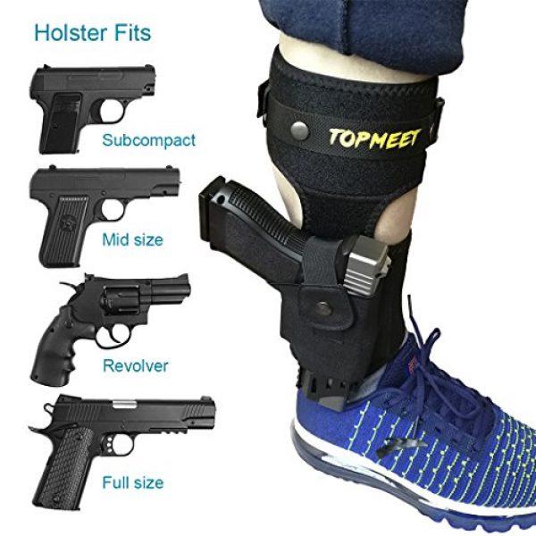 topmeet  3 topmeet Upgraded Ankle Pistol Holster