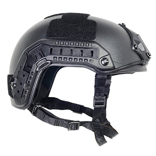 Optional life Airsoft Helmet 2 Optional life Black Free Size Tactical ABS Airsoft CS Paintball Security Helmet