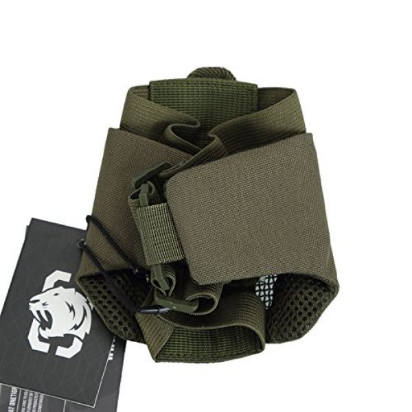 """OneTigris Airsoft Mask 6 OneTigris 4.5"""" Tactical Foldable Half Face Mask Protective Mesh Mask Fit Women & Teenagers"""
