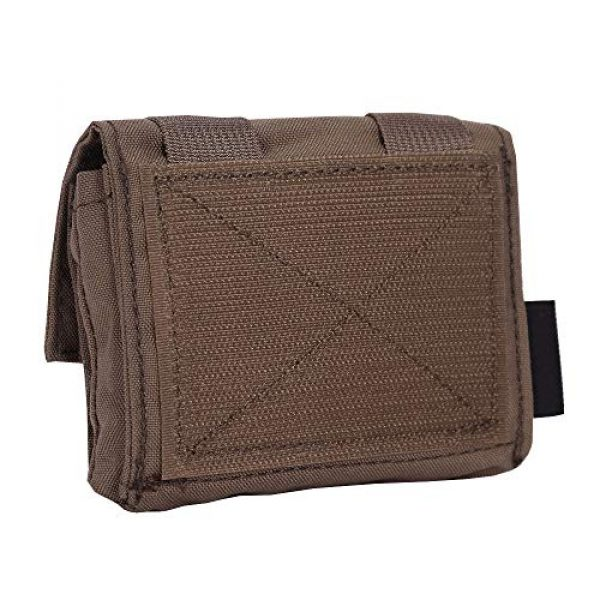 EMERSONGEAR Airsoft Helmet 2 EMERSONGEAR Molle Tactical Helmet Pouch Removable Gear Pouch