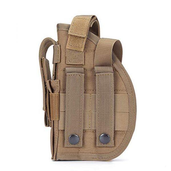 ESA Supplies  3 ESA Supplies Molle Gun Holster Pounch Airsoft Handgun Holster Tactical Holsters for Pistols Glorck G17 G18 G19 G26 G34 M1911