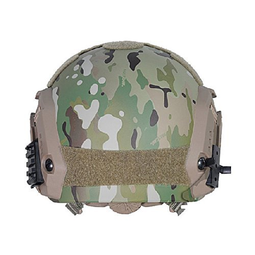 ATAIRSOFT Airsoft Helmet 3 ATAIRSOFT Adjustable Maritime Helmet ABS Multicam MC for Airsoft Paintball