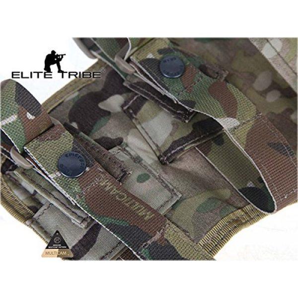 Elite Tribe  5 Elite Tribe MP7 Tactical Leg Holster Shooting Pistol Drop Pouch Multicam Camo Gun Holder Left Right Hand