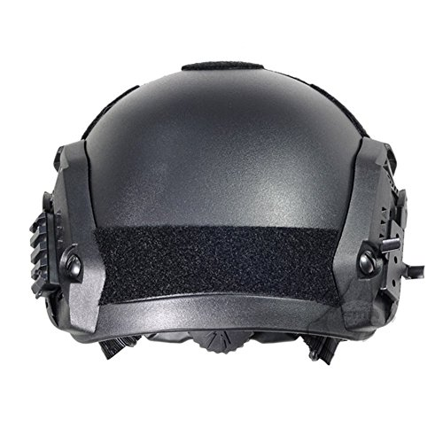Optional life Airsoft Helmet 3 Optional life Black Free Size Tactical ABS Airsoft CS Paintball Security Helmet