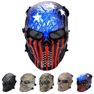 Outgeek Airsoft Mask 1 Outgeek Tactical Airsoft Mask Full Face Costume Mask(Urban)