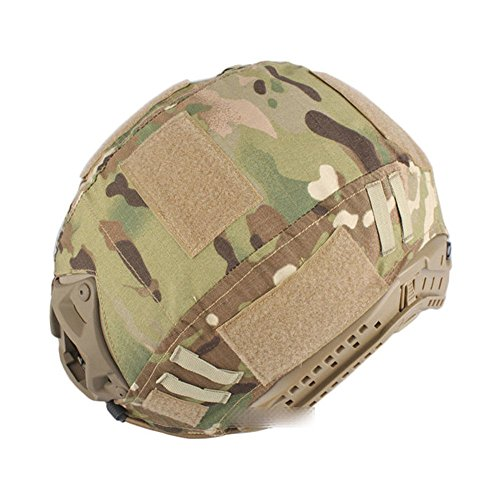 Leagway Airsoft Helmet 2 Leagway Tactical Military Combat Helmet Cover for Ops-Core Fast Ballistic Helmet