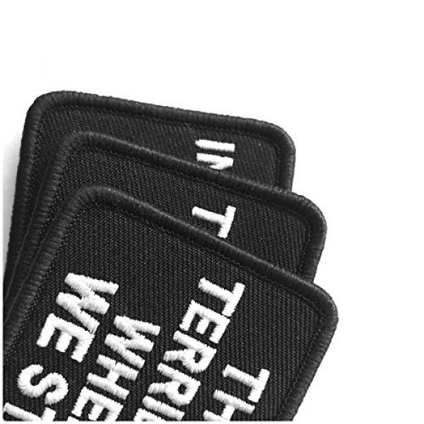 Ebateck Airsoft Morale Patch 4 2 Pack That's a Terrible Idea When Do We Start Patch - Embroidered Morale Patches Tactical Funny for Hat, Backpack, Jackets (Applique Fastener Hook & Loop)
