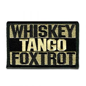 BASTION Airsoft Patch 1 BASTION Morale Patches (Whiskey Tango Foxtrot