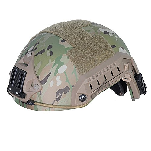 ATAIRSOFT Airsoft Helmet 2 ATAIRSOFT Adjustable Maritime Helmet ABS Multicam MC for Airsoft Paintball