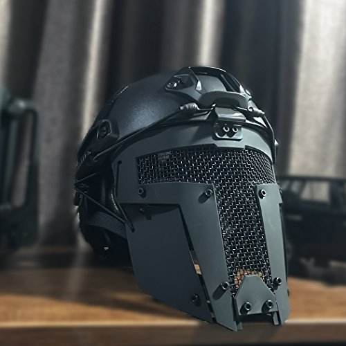 IDOGEAR SPORTS Airsoft Mask 6 IDOGEAR Airsoft Full Face Mask Tactical SPT Mesh Mask Fit for Fast Helmet Duty Face Protection