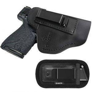 AIKATE  1 IWB Leather Holster for Concealed Carry