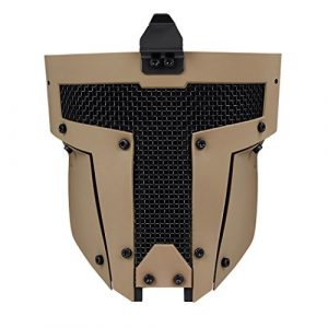 IDOGEAR SPORTS Airsoft Mask 1 IDOGEAR Airsoft Full Face Mask Tactical SPT Mesh Mask Fit for Fast Helmet Duty Face Protection