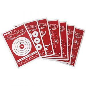 Daisy Airsoft Target 1 Daisy Red Ryder 993165-312 Paper Targets 25 ct targets